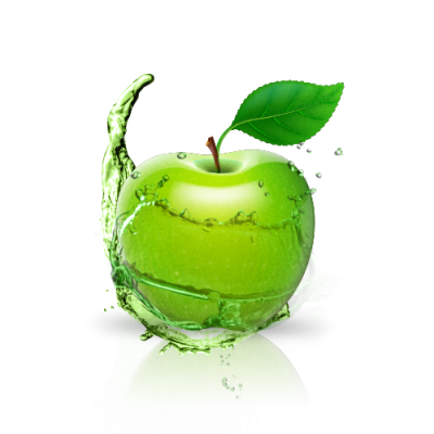Green Apple PNG Pic