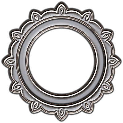 Circle Frame PNG Transparent Picture