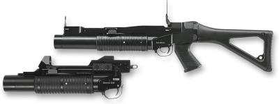 Grenade Launcher PNG Background Image