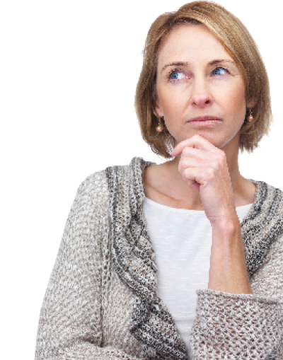 woman-background-Thinking-transparent