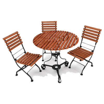 Outdoor Furniture PNG File
