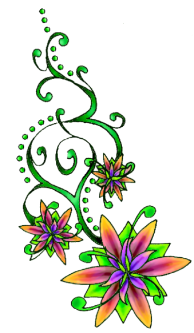 Flower Tattoo Free Download Png