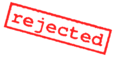 Rejected Stamp Png Clipart