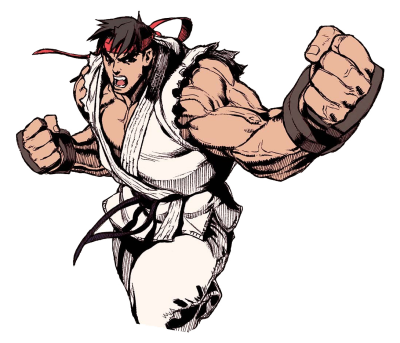 Street Fighter II PNG Transparent Image