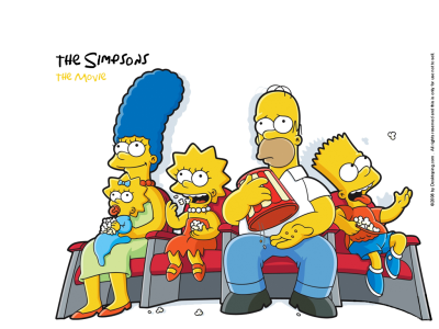 The Simpsons Transparent