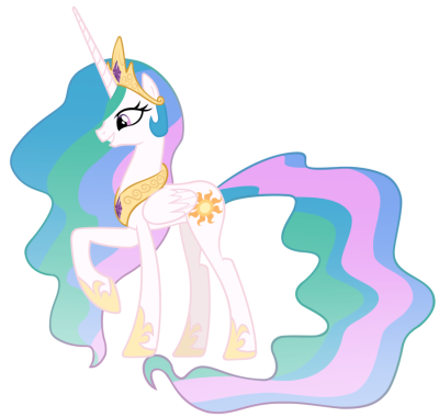 Princess Celestia PNG File