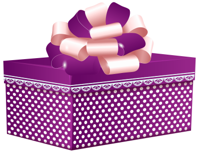 purple-dotted-gift-box