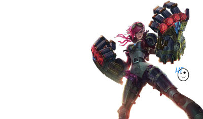 Render: Vi League of Legends