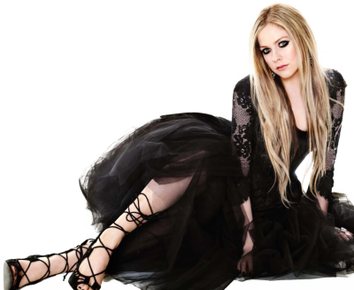 Avril Lavigne PNG Transparent