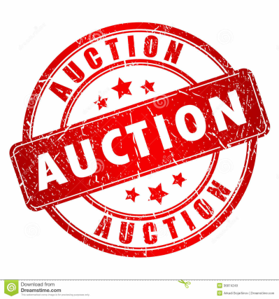 Auction Stock Illustrations u