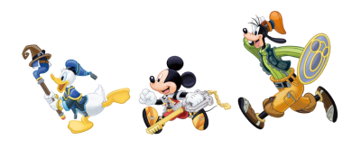 Kingdom Hearts Transparent Background