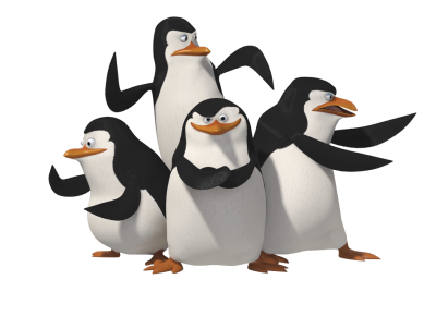 Madagascar Penguins Png Image