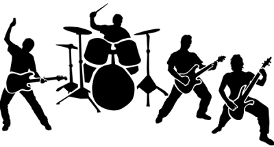 Rock Band PNG Transparent Image