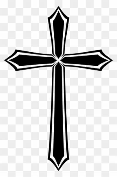 Jesus Christ Is My Savior, Not My Religion   Gothic Cross Png ...