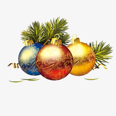 New Year Decorative Elements, Bell, Golden Bells, Color Bell PNG ...
