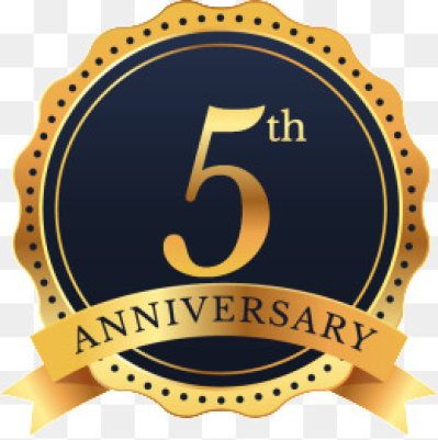 5th Anniversary Png, Vectors, PSD, and Clipart for Free Download ...