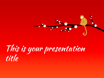 Free Powerpoint template or Google Slides theme for Chinese New ...