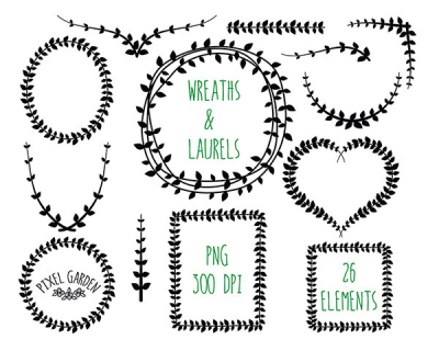 Free Vine Wreath Cliparts, Download Free Clip Art, Free Clip Art ...