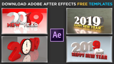 Download Free Adobe After Effects Template   Element 3D   Happy ...
