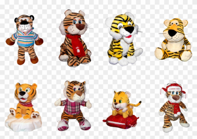 Tiger Cartoon Chinese New Year   2010   Free Transparent PNG ...