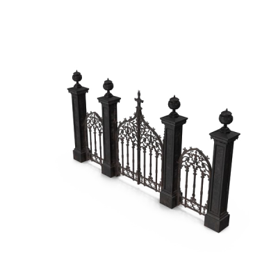Cemetery Gates PNG Free Download
