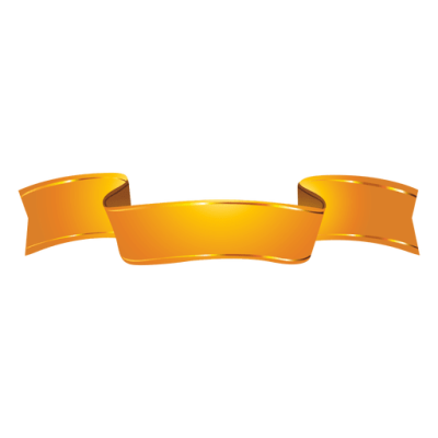 Golden Ribbon Free Transparent Image HD