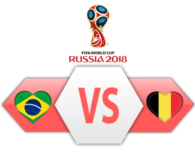 Fifa World Cup 2018 Quarter-Finals Brazil Vs