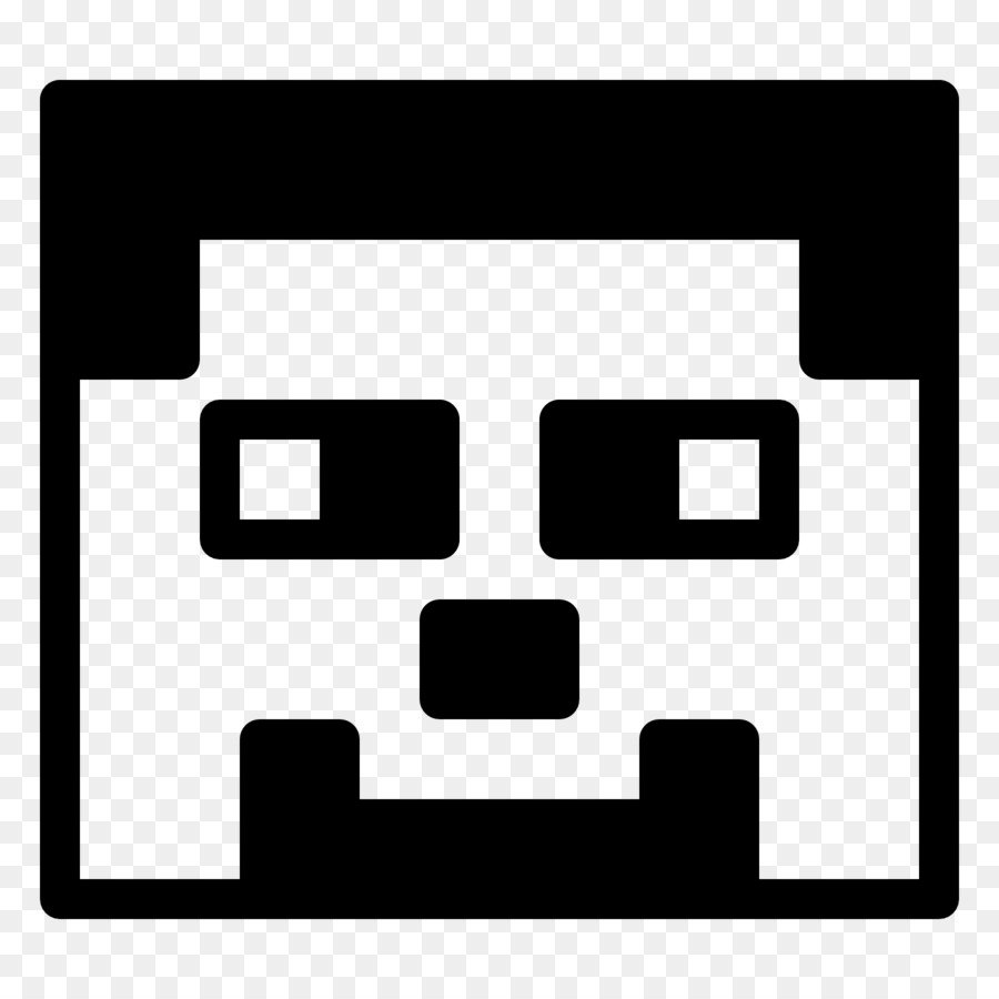 Download Free png Minecraft Computer Icons Black and white