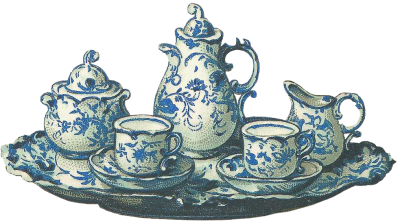 Tea Set Png Picture