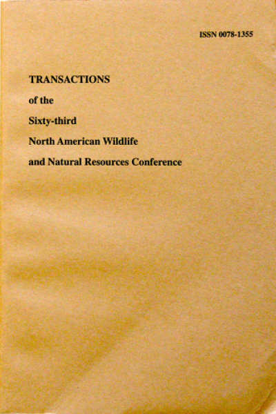 Transactions of the 63rd North American Wildlife and Natural ...