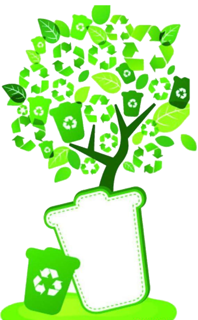 Bin Container Recycling Tree Environmental Protection Green