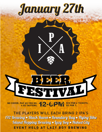 IPA Beer Festival at Lazy Boy Brewery and Taproom — The Northwest ...