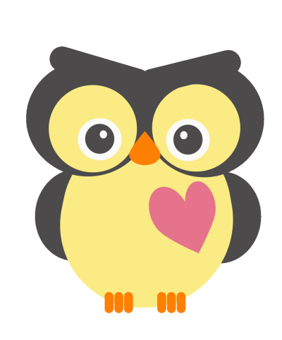 Cute valentine owl clip library stock   RR collections