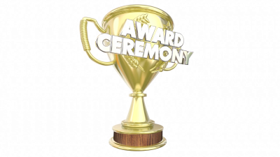 Award Ceremony Trophy Presentation Show Appreciation 3d Animation ...