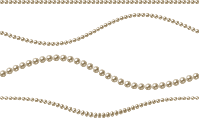 Pearl-string-background-Pearls-transparent