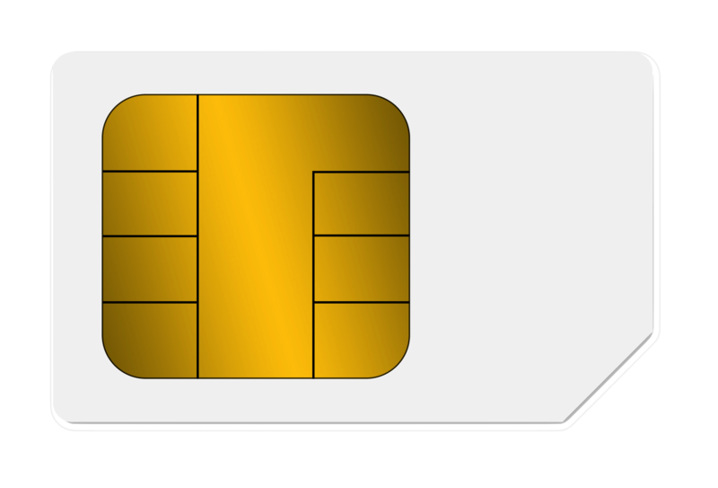 Sim Card Transparent