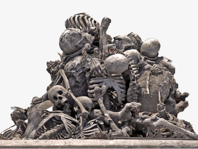 A Pile Of Bones, Bones, Bone, Skeleton PNG Image and Clipart for ...