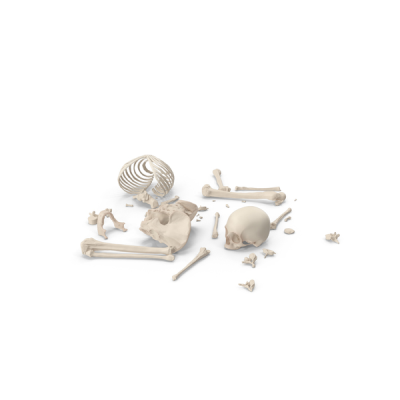 Skeleton Scattered Bones PNG Images & PSDs for Download ...