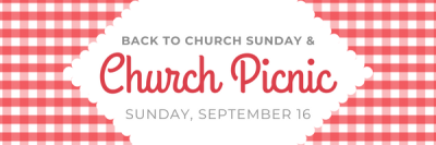 Back to Church Sunday & Picnic — Davidsonville United Methodist Church