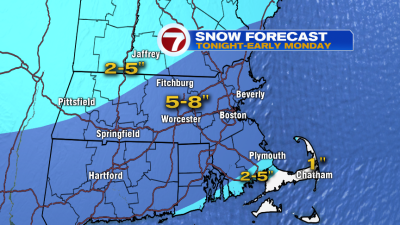 Sunday Night Snow Lingers into Monday Morning Commute – Boston ...
