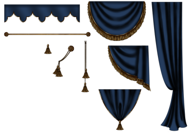 Curtains Free Download PNG HD