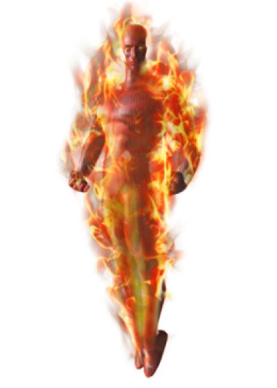 Human Torch Download Png