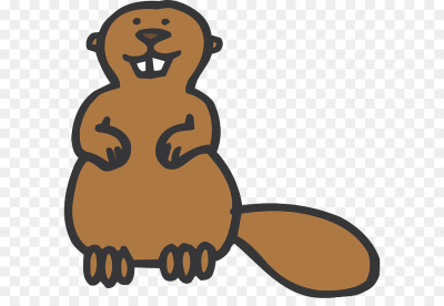 Cartoon North American beaver Clip art   Beaver PNG png download ...
