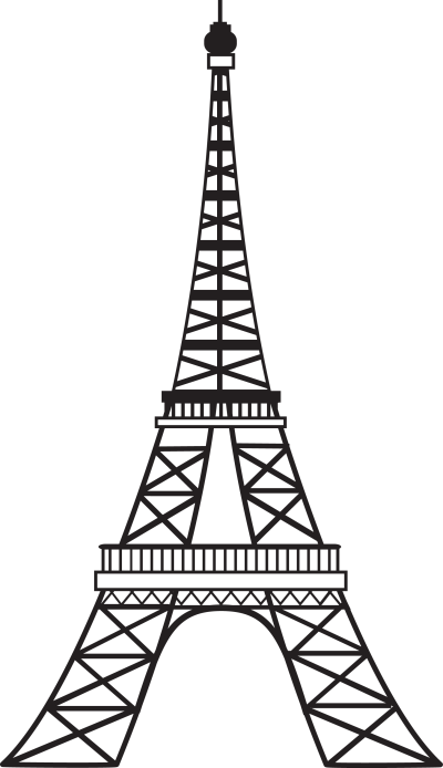 Eiffel Tower PNG Transparent Image
