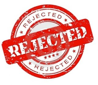 Rejected Stamp Png Rejected R