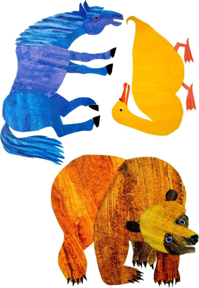 eric carle brown bear colouri