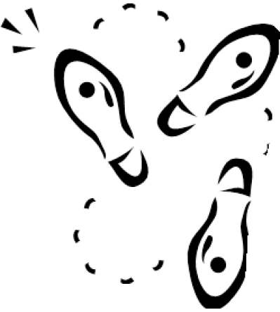 Dancing Feet Diagram Clipart Png Images