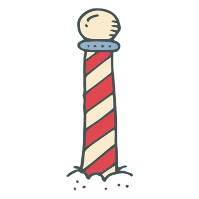 North pole stripe hand drawn cartoon icon 12   Transparent PNG ...