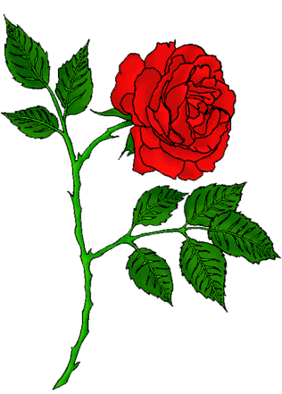 Rose Tattoo Free Png Image