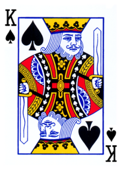 king of spades   Wiktionary